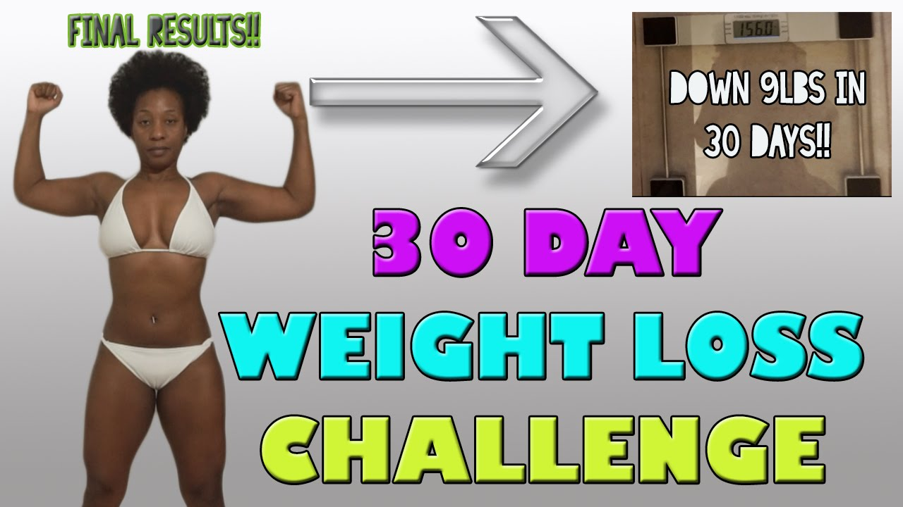 30 day weight loss challenge final results youtube. Black Bedroom Furniture Sets. Home Design Ideas