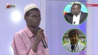 Incroyable: Moustapha, le non voyant qui imite à merveille les reporters de beIN Sport et M. M.Nd