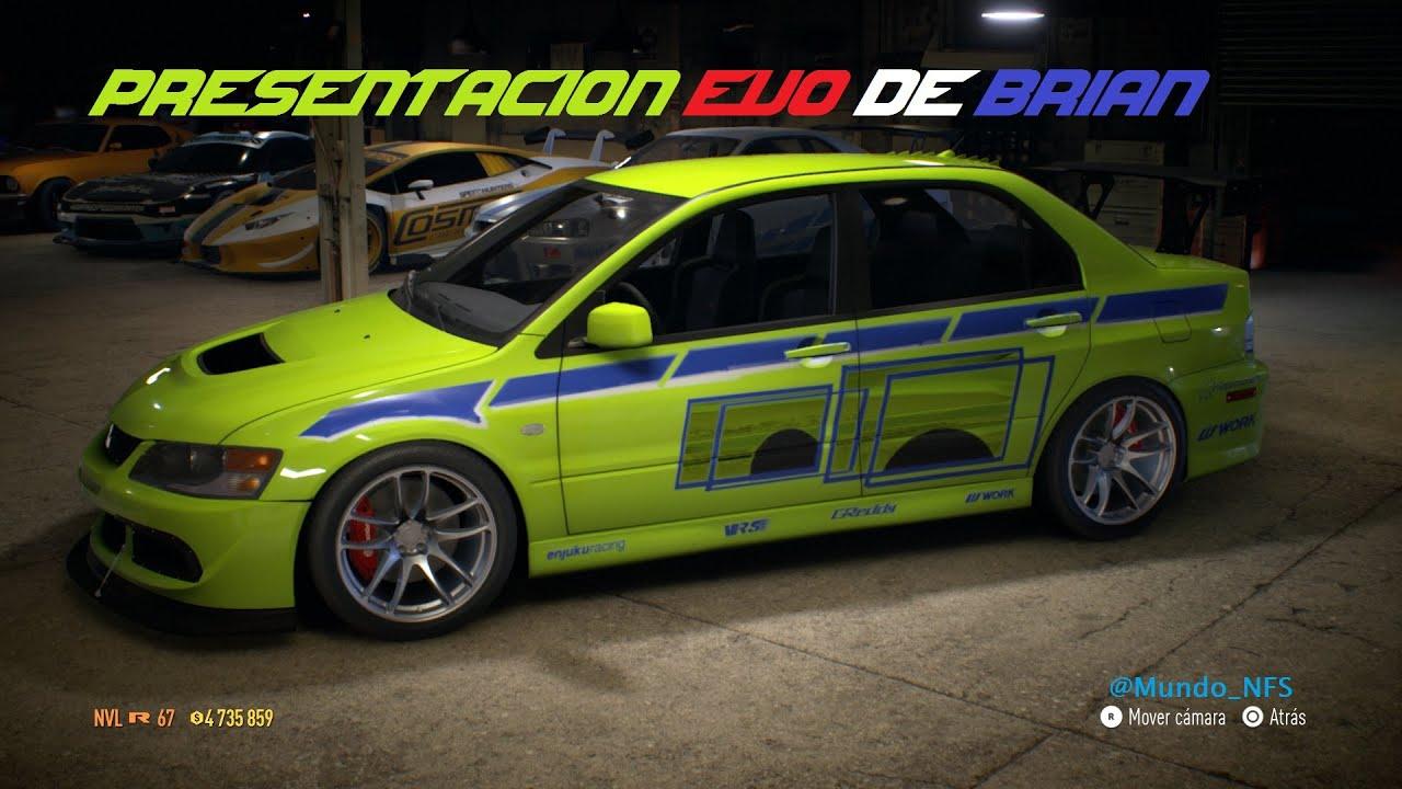 Gameplay Con El Lancer Evolution De Brian