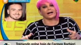 Golpe Bajo de Carmen Barbieri a Fede Bal 21 09