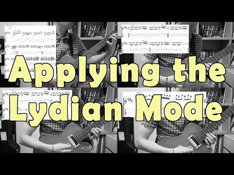Lydian Scale - How to Use the Lydian Mode on Guitar