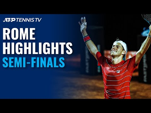 Schwartzman & Shapovalov Produce Classic; Djokovic Battles Ruud | Rome 2020 Semi-Final Highlights