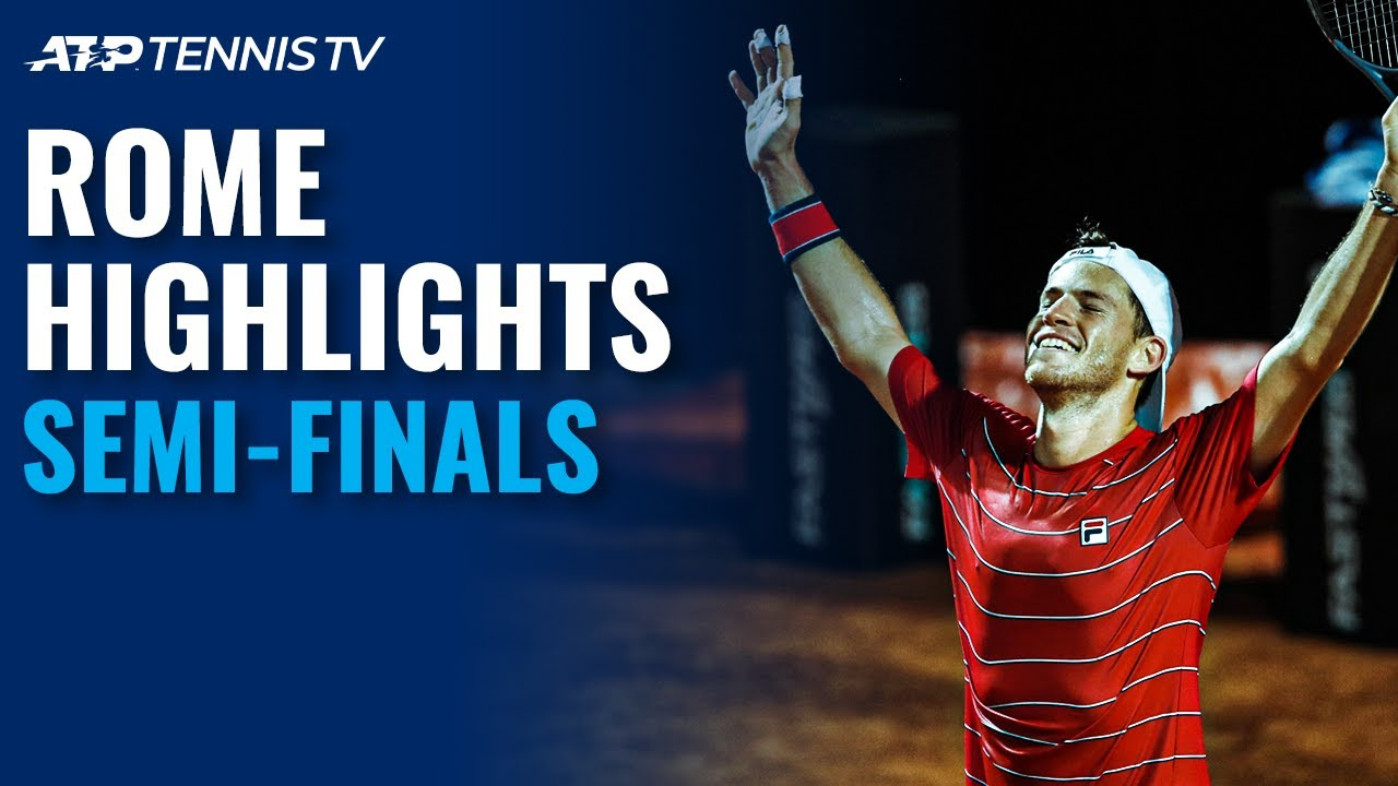 Schwartzman & Shapovalov Produce Classic; Djokovic Battles Ruud | Rome 2020 Semi-Final Highlights