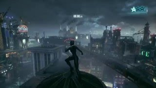 Batman Arkham Knight Catwoman Gameplay PS4