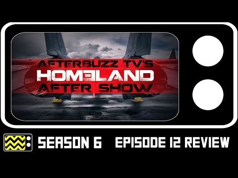 Homeland Season 6 Episode 12 Review & After Show | AfterBuzz TV