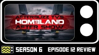 Homeland Season 6 Episode 12 Review & After Show | AfterBuzz TV