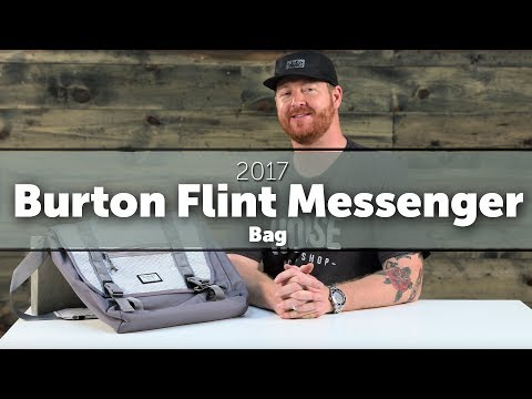 2017 Burton Flint Messenger Bag