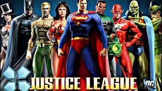 Justice League Heroes (PSP) Android Game Play #1