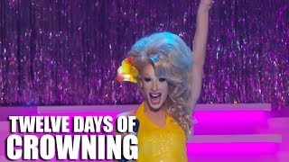 alaska s audience warm up rupaul s drag race reunited countdown to the crown