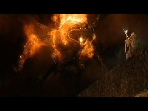 Le seigneur des anneaux 1 la chute de gandalf sc ne mythique youtube - Tatouage seigneur des anneaux ...