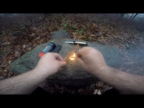testing-the-zippo-survival-matches-in-the-rain...important-lesson-learned!-!!!