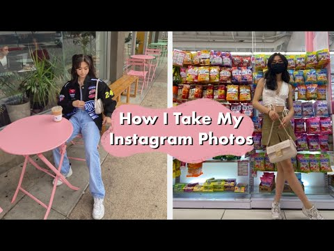 How to take instagram worthy pictures alone (pinterest girl edition)