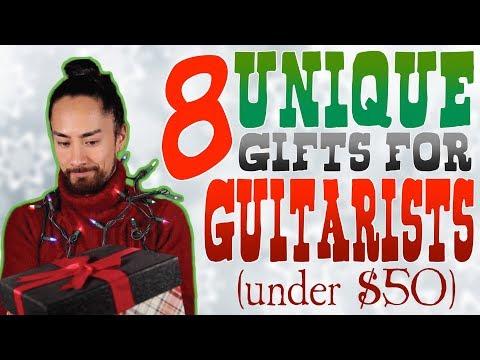 Unique Guitar Gift Ideas - YouTube