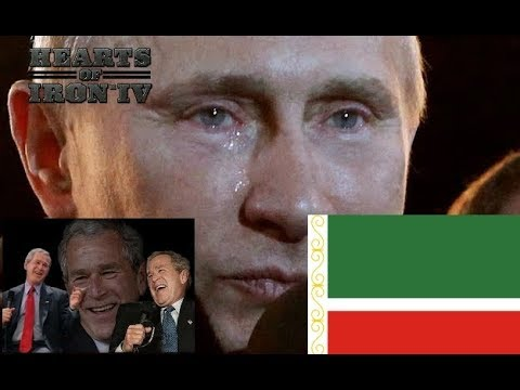 HOI4 - When Russia fails the invasion of Chechnya - Modern Day Mod