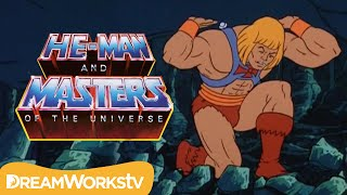 He-Man Lifts Castle Grayskull | HE-MAN AND THE MASTERS OF THE UNIVERSE