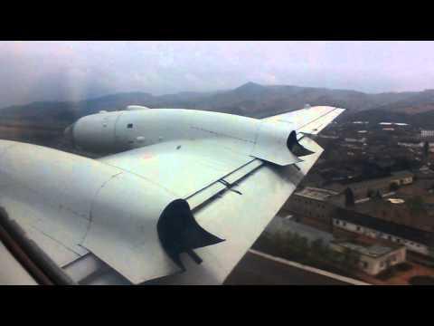 Air Koryo Ilyushin IL-18 flight