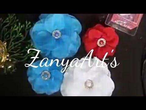 Flor feita com régua caseira 🌺🌸
