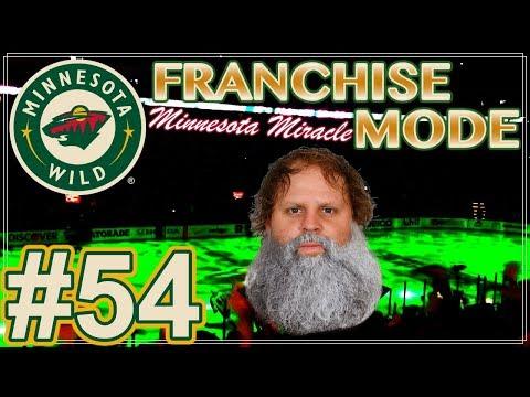 "NHL 18 Minnesota Wild Franchise Mode #54 ""40 YEAR OLD PHIL!"""