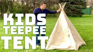 Kids Canvas Indian Teepee Tent Playhouse by Lavievert Review