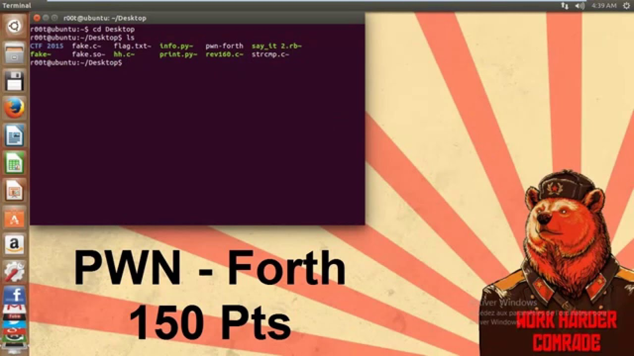 32C3 CTF 2015 | #PWN | forth 150 Points