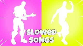 Fortnite Dance Emotes That SOUND BETTER in SLOW MO