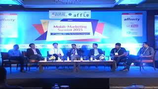 Vaibhav Kapur on panel discussion at IAMAI & Affle