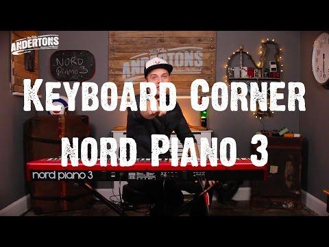Keyboard Corner - Nord Piano 3
