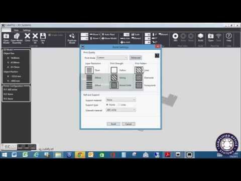 Cube Pro Print Software Overview