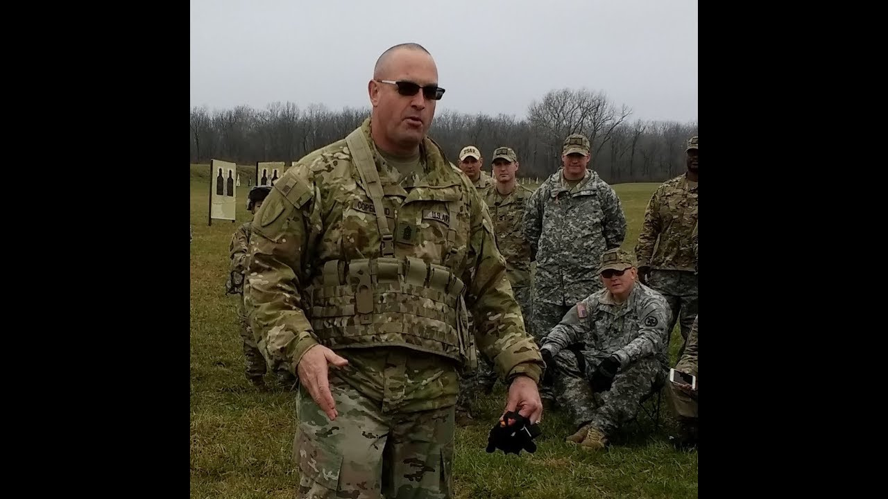 Thanks to CSM Ted L. Copeland, Command Sergeant Major of the Army Reserve, for attending the 2018 USAR Midwestern Small Arms Championships. And thank you to all the Soldiers that competed and supported this event.