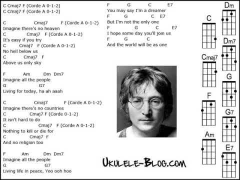 Imagine (ukulele cover) - YouTube