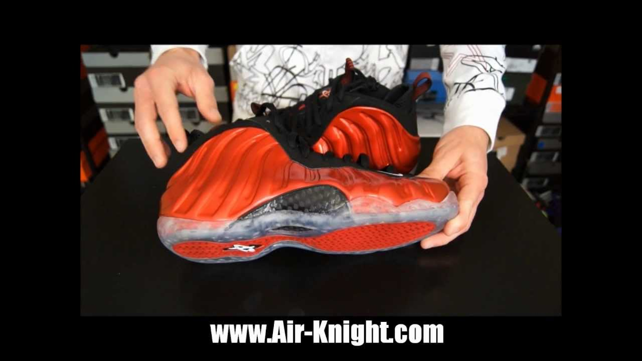 19572289b1da Nike Air Foamposite One Metallic Red Review - YouTube