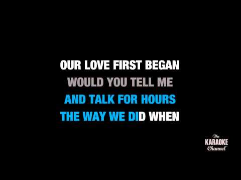 "I Told You So in the Style of ""Carrie Underwood"" karaoke video with lyrics (no lead vocal)"