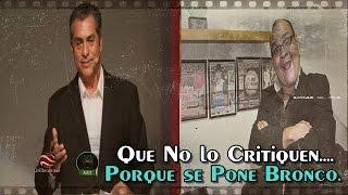 Denuncian a Jaime Rodríguez, El Bronco, por bloquear obra de teatro donde se le critica.
