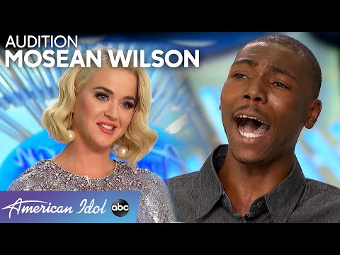 Mosean Wilson Performs An AMAZING Original Song For His American Idol Audition - American Idol 2020