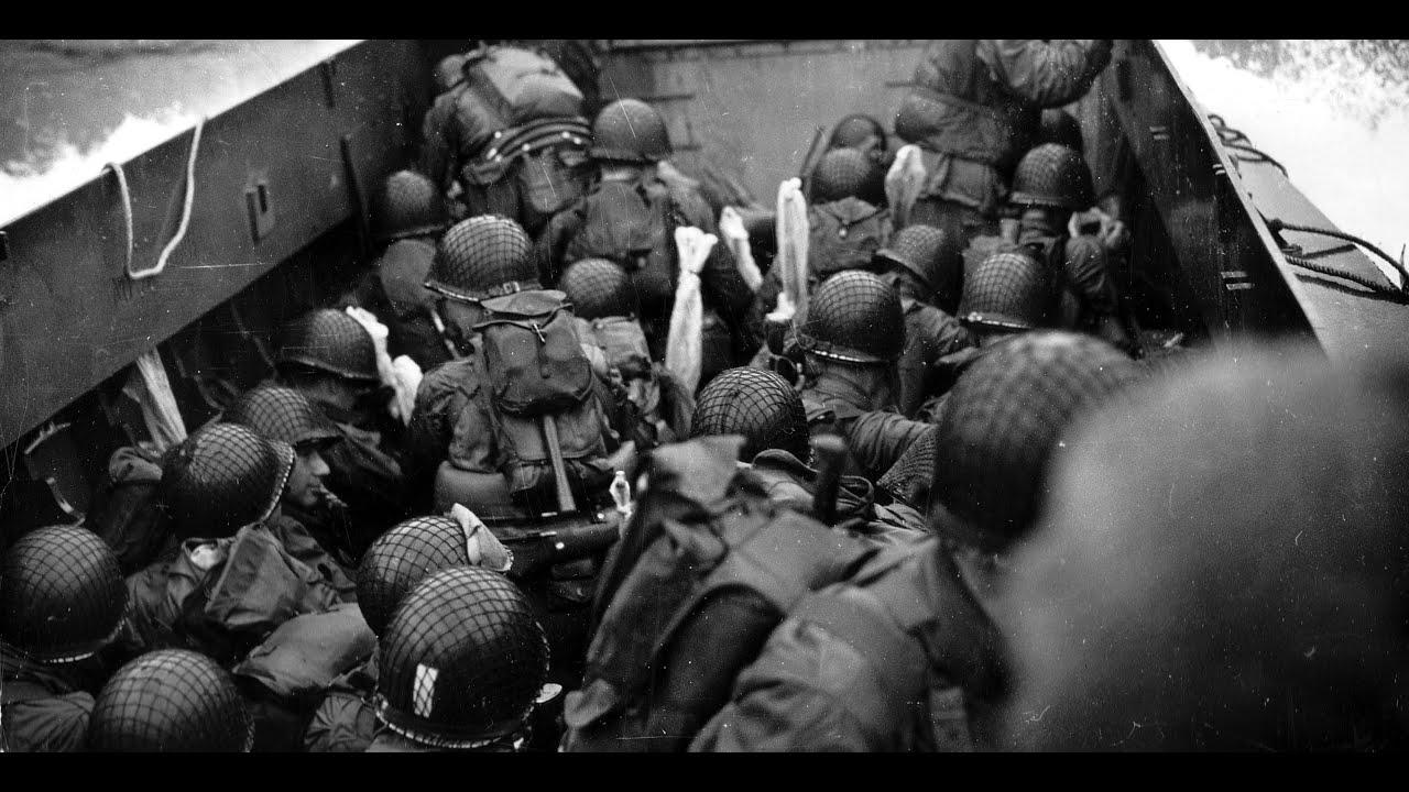 D-Day, Omaha Beach, June 6, 1944, Volume I - YouTube