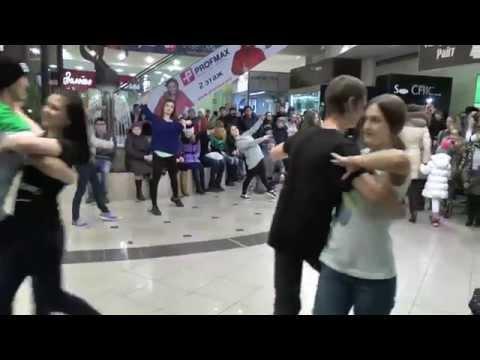 Dance flashmob в развлекательном центре Тюмень