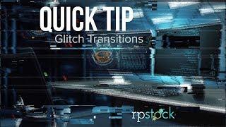 Quick-Tipp: Erstellen Sie Ihre Eigenen Glitch Übergang in AE