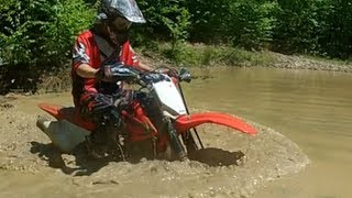 Dirtbikes + Mud = Bad Idea! - GoPro Hero 2