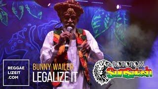 Bunny Wailer - Legalize It @ Rototom Sunsplash 2015