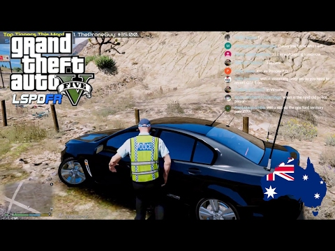 GTA V - LSPDFR Australia LIVE - Unmarked NSWPF VF Commodore (GTA 5 police mod for PC only)
