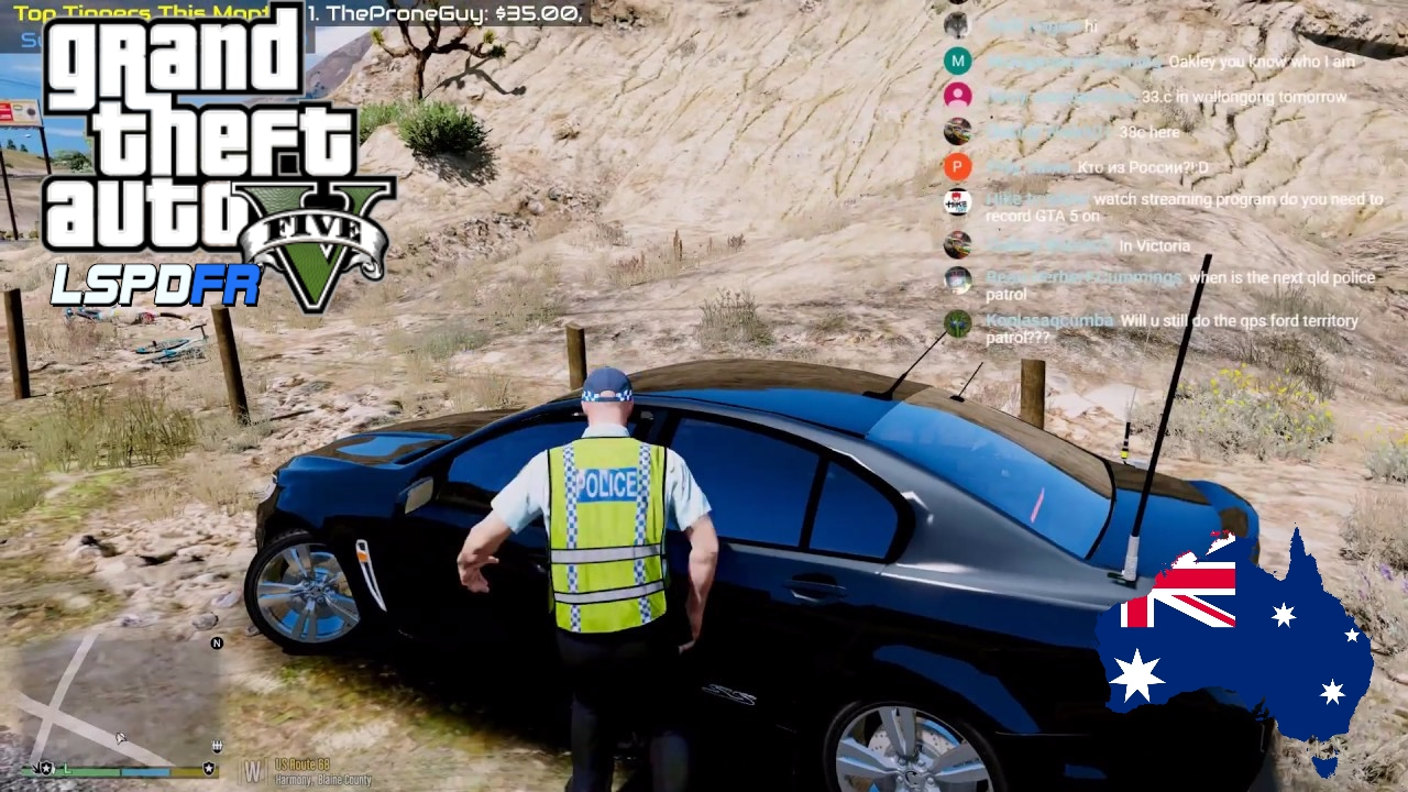 GTA 5 - LSPDFR Australia LIVE - Unmarked NSWPF VF Commodore (GTA 5 police  mod for PC only)