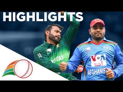 Pakistan vs Afghanistan - Highlights | Physical Disability Cricket World Series 2019