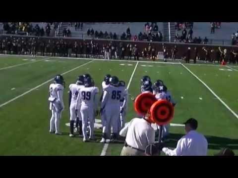 Newberry High School  football team vs Dillion High School 1st play of game