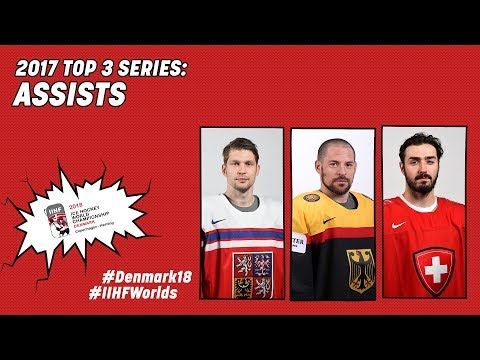 2017 Top-3 Series: Assists - #IIHFWorlds 2018 - 동영상