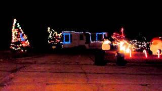 Mr. Christmas Light Show In Iowa!