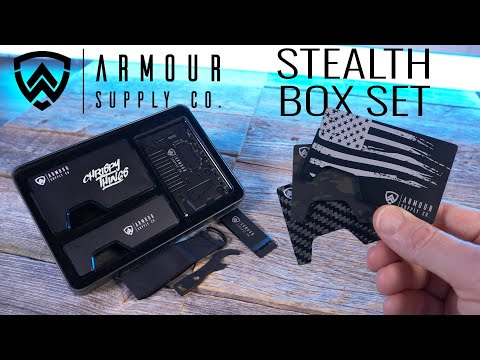 Armour Stealth Box Set: Maybe the BEST EDC release of this year?