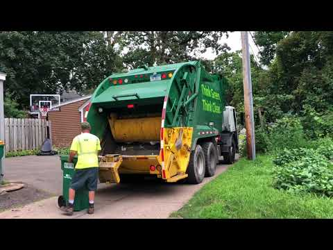 Waste Management refuse trucks