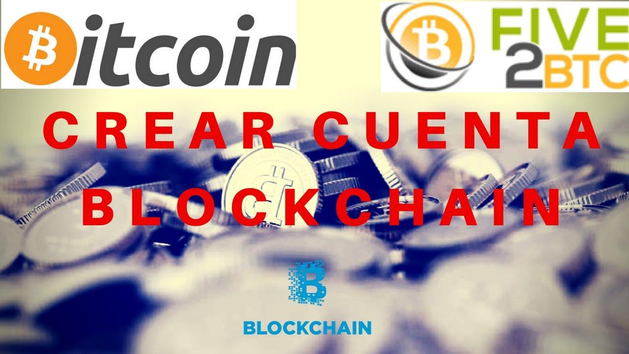 Cómo Crear Tu Billetera Virtual de Bitcoin en Blockchain - Cuenta nueva - YouTube