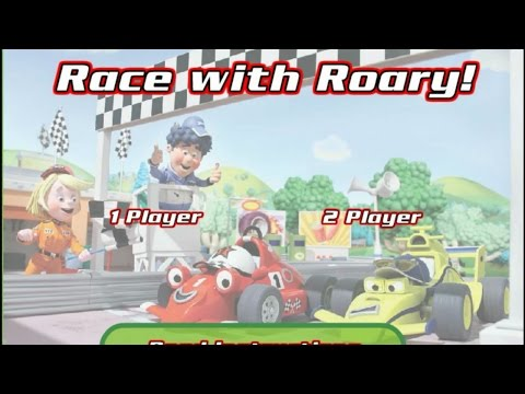 Race With Roary-Interactive Game-PC Game For Kids