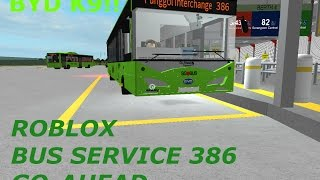 ROBLOX (G-AS) Bus service 386 (Pungool Bus Interchange)